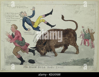 Die irische Bulle brach lose LCCN 2004670133 - Stockfoto