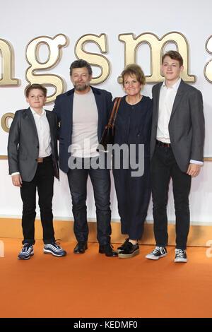Kingsman der golden circle Weltpremiere - Ankunft mit: Andy Serkis, Wo: London, Vereinigtes Königreich, wenn: 18 - Stockfoto