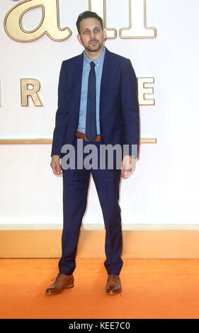 "Sep 18, 2017 - Dynamo die Teilnahme an 'Kingsman: Der Golden Circle"" Weltpremiere, Leicester Square in London, England, - Stockfoto"