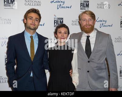 """Lieben Vincent 'uk Premiere - 61. BFI London Film Festival - Stockfoto"