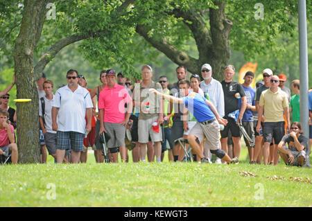 Aul mcbeth (geboren am 9. Juli 1990) ist eine US-amerikanische professionelle Scheibe Golfspieler von Huntington - Stockfoto