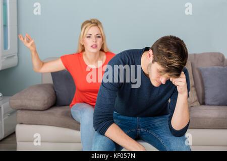 Untreue und Scheidung der Frau