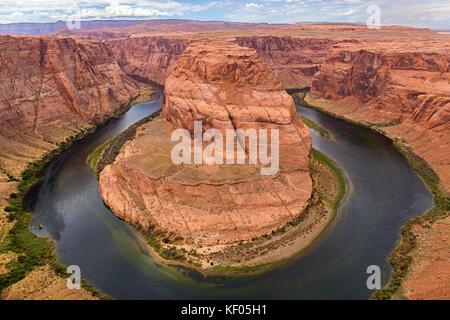 Horseshoe Bend, Colorado River. Grand Canyon, Page, Arizona. usa - Stockfoto