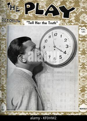 """""""Sagen Sie die Wahrheit' von R. S. Weston und Bert Lee, mit Bobby Howes (4. August 1895 - 27. April 1972). Ein Londoner - Stockfoto"""