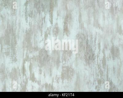 Abgenutzte blass weiß grün lackiertem Holz Oberfläche - Stockfoto