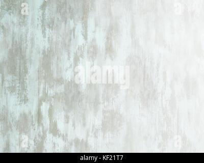 Abgenutzte blass weiß grün lackiertem Holz Oberfläche weiß verblassen - Stockfoto