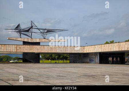 Monumento aos Mortos Da Segunda Guerra Mundial, Weltkrieg-II-Denkmal, Rio de Janeiro, Brasilien, Südamerika - Stockfoto