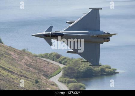 Die Mach Loop in Wales ist eine militärische Geringe Ort der Ausbildung - Stockfoto