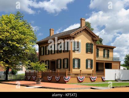 Von Abraham Lincoln in Springfield, Illinois - Stockfoto