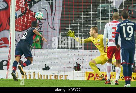 Leipzig, Deutschland. 25 Okt, 2017. dfb-pokal Fußball Match, Leipzig, 25. Oktober 2017 thiago Alcantara, Fcb 6 Uhr - Stockfoto