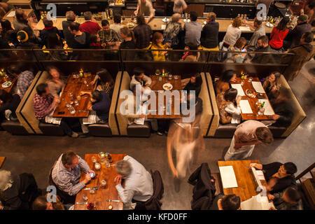 Usa, Kalifornien, San Francisco, nopa Restaurant in nopa, Divisadero Street - Stockfoto