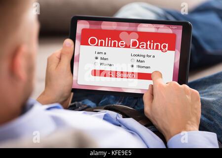 Dating-Website durchsuchen