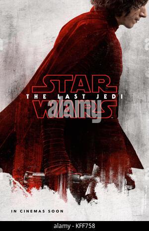 Erscheinungsdatum: Dezember 15, 2017 Titel: Star Wars: Der letzte Jedi STUDIO: Lucasfilm Regie: Rian Johnson PLOT: - Stockfoto