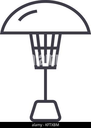 Kühler stahl-Symbol, Vector Illustration, schwarze Zeichen auf ...