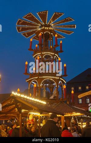 Weihnachtsmarkt Hanau.Deutschland Hessen Hanau Deutschland Hanau Hessen