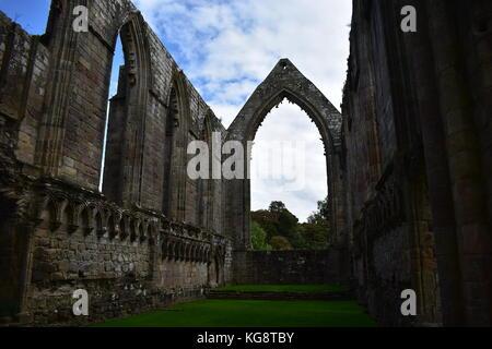 Bolton Abbey in Yorkshire, England - Stockfoto