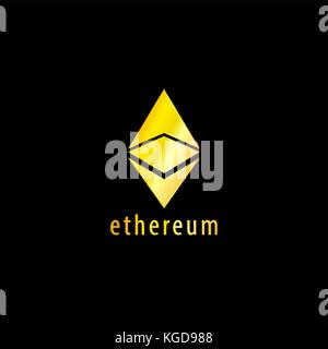 Golden Symbol des Astraleums Vektorsymbol, Illustration, eps-Datei - Stockfoto