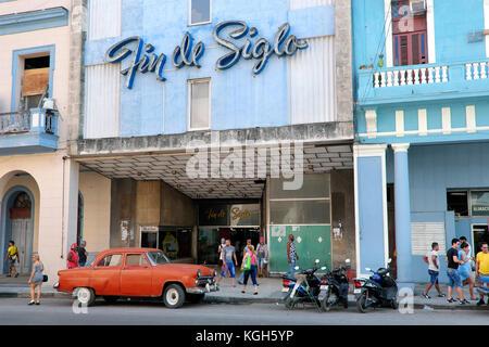 Fin de Siglo Kaufhaus, Havanna, Kuba - Stockfoto