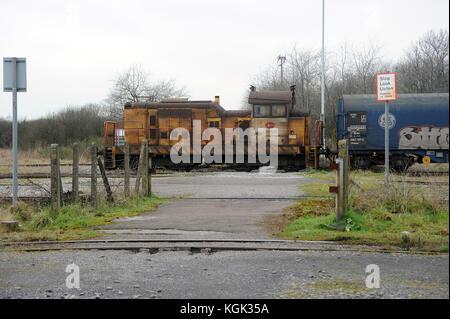 Port Talbot Stahlwerk Lok 904 für den Antrieb eines Zuges von margam Hof in Port Talbot Stahlwerken.