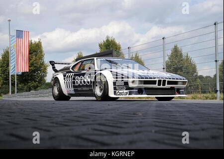 Bmw m1 procar klassischen deutschen Rennwagen in boss Farben - Stockfoto
