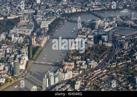 London-Luftbild - Stockfoto