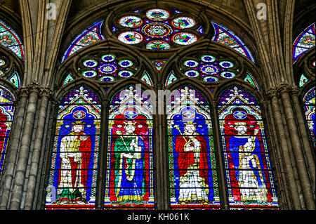 Notre Dame Glasfenster