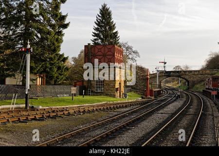 Goathland Station North York Moors (hogsmeade station) - Stockfoto
