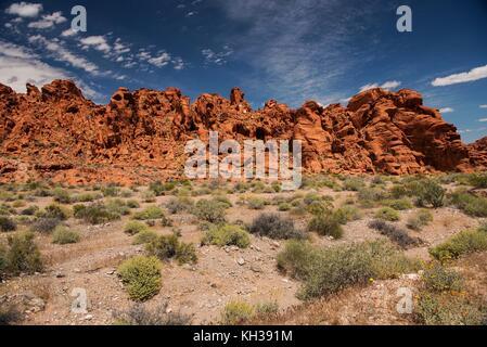 Valley of Fire State Park im Südosten von Nevada - Stockfoto