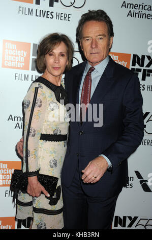 New York, NY - 28. September: Bryan cranston besucht 55th New York Film Festival Opening Night Premiere von 'letzte - Stockfoto