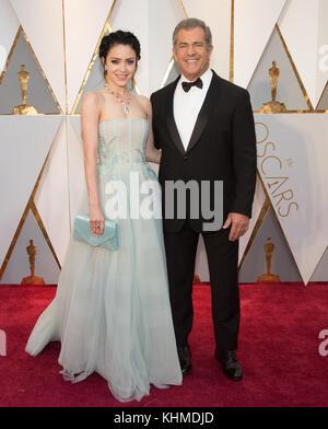 Hollywood, CA - 26. Februar: Mel Gibson besucht die 89. jährlichen Academy Awards in Hollywood & Highland Center - Stockfoto