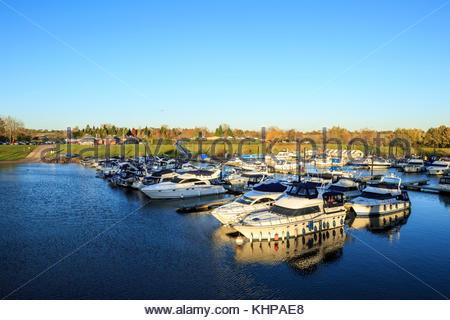 Upton Marina, Worcestershire, England - Stockfoto