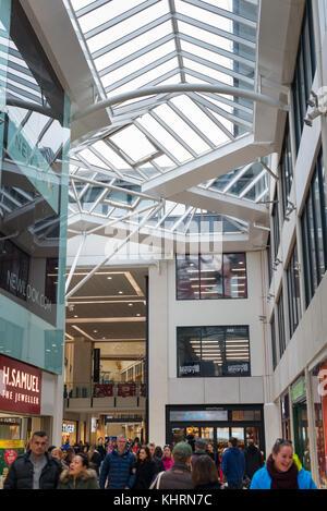 Der Löwe Hof Einkaufszentrum, in Cambridge, England, UK. - Stockfoto