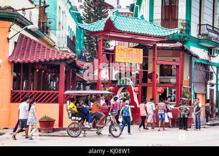 Chinatown, Havanna, Kuba - Stockfoto