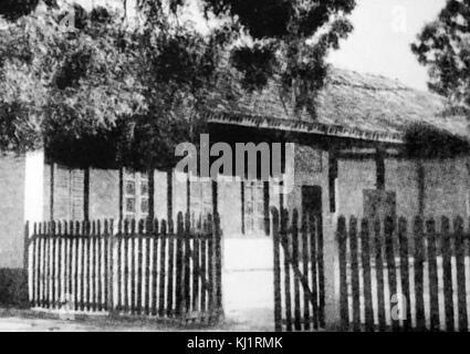 Sabarmati Ashram (auch als Gandhi Ashram bekannt), war einer der Wohnsitze von Mohandas Karamchand Gandhi, Mahatma Gandhi, der dort für ungefähr zwölf Jahre zusammen mit seiner Ehefrau Kasturba Gandhi lebte genannt. Es war von seiner Base hier, dass Gandhi führte die Dandi März auch als Salz Satyagraha am 12. März 1930 bekannt