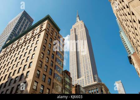 Das Empire State Building in New York