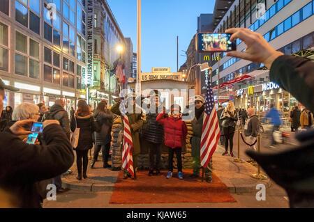 Schüsse aus Berlin - Stockfoto