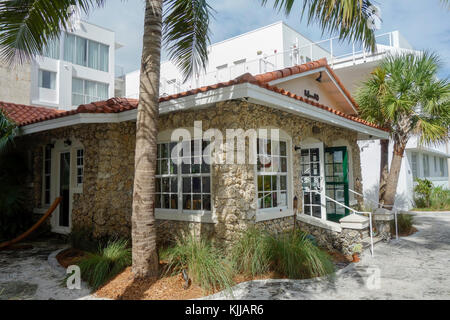 Washington Park Hotel, South Beach, Miami, USA. - Stockfoto