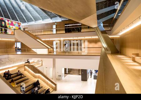 Innenraum des Design Museum in London, Großbritannien - Stockfoto