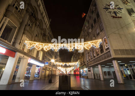 stadt belgrad winter nachts stockfoto bild 25406050 alamy. Black Bedroom Furniture Sets. Home Design Ideas
