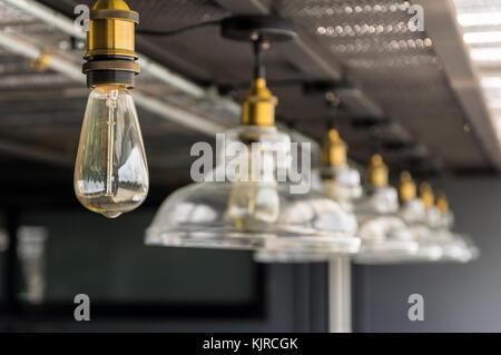 Reihe von Luxus Beleuchtung Dekoration - Stockfoto