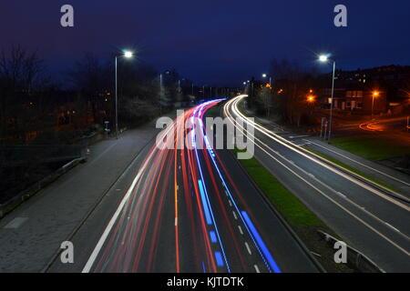 Verkehr Wanderwege über castlereagh - Stockfoto