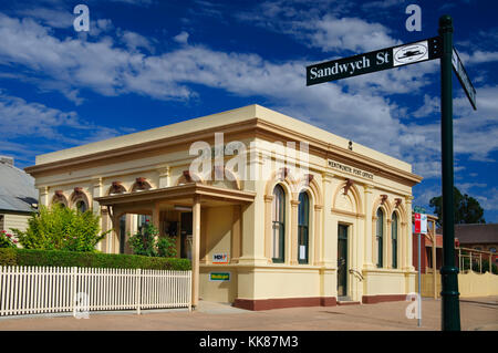 Post, Wentworth, New South Wales (NSW), Australien. - Stockfoto