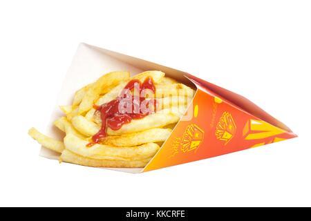 Kartoffeln Pommes frites - Stockfoto