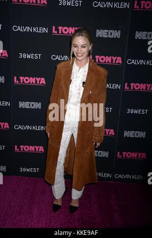 """New York, New York - November 28: Nicky Hilton besucht eine Vorführung von 'Ich, tonya"""" im Dorf östlich Kino am - Stockfoto"""