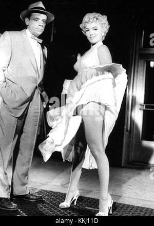 Tom ewell Marilyn Monroe verflixte siebte Jahr - Stockfoto
