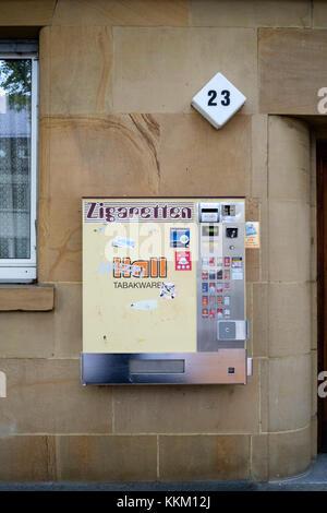 Zigarettenautomaten in Mannheim, Deutschland - Stockfoto
