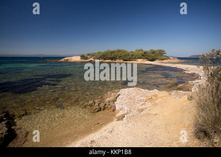 Île de Porquerolles, Hyéres, Frankreich - Stockfoto