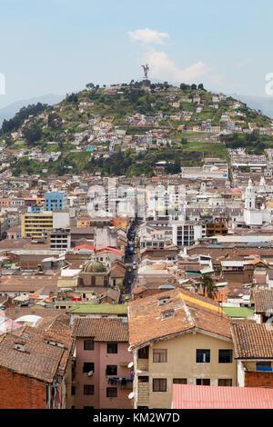 Panecillo Hill, Quito Ecuador Südamerika - Stockfoto