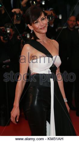 """Cannes, Frankreich - 16. Mai: Sophie Marceau die Premiere von """"Das Meer der Bäume"""", die im Rahmen der 68. jährlichen - Stockfoto"""