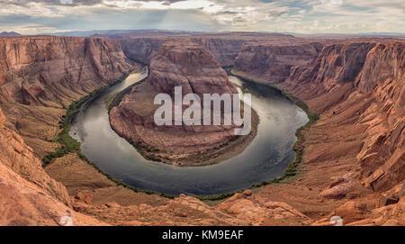 Horseshoe Bend, Page, Arizona, Amerika, USA - Stockfoto